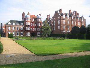 il Newnham College, scuola universitaria solo femminile a Cambridge