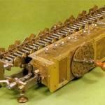 Leibniz crea macchina moltiplicatrice