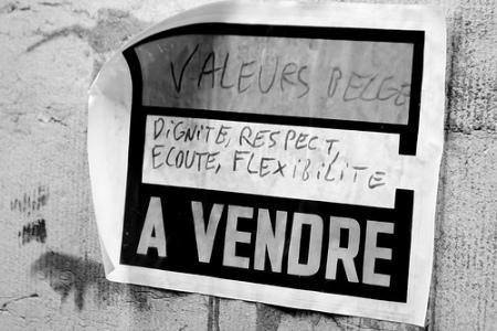 Manifestazione a Bruxel