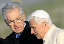 Monti e Ratzinger