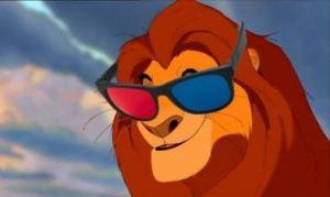 Il re leone 3 D è uguale, ma servono gli appositi occhialini