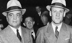 J. Edgar Hoover e Clyde Tolsoln