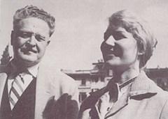Nazim Hikmet e Vera Tuljacova