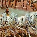 La gara delle bighe in Ben Hur