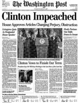 Clinton Impeached