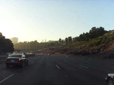 Santa Monica Highway at Sunset
