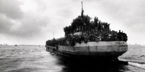 emigranti barcone lampedusa