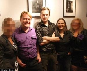 Anna Ardin  e Julian Assange