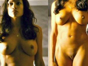 hot Rosario Dawson totally naked In trance