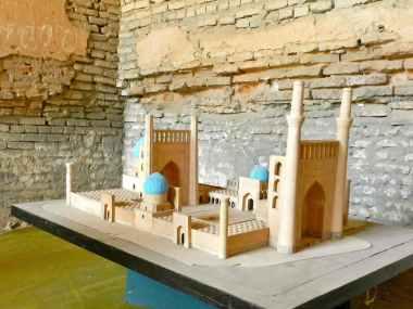 Il progetto originale della moschea