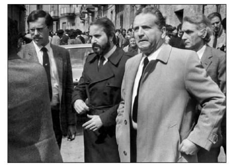 30 aprile 1982: dopo l'assassinio di Pio La Torre e Rosario Di Salvo, Ninni Cassarà, Giovanni Falcone e Rocco Chinnici arrivano sul luogo del delitto. Finiranno tutti ammazzati.