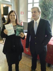 Tamara Mussio presenta Giovanni Nebuloni a Vanzago.