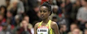 Genzebe Dibaba, grande promessa del fondo etiope.