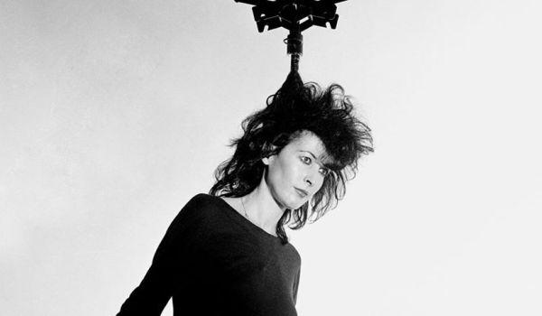 Francesca Alinovi all'inizio degli anni '80.