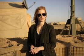 Jessica Chastain in Zero Dark Thirty di Katrhyn Bigelow