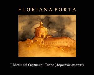 Il Monte dei Cappuccini. L'acquerello preferito di Floriana Porta.