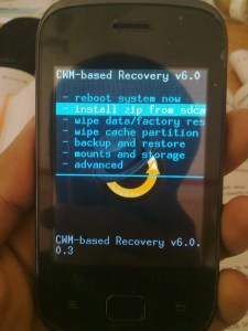 Clockwork-mod recovery