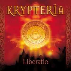 """Copertina dell'album """"Liberatio"""" del gruppo tedesco Krypteria"""
