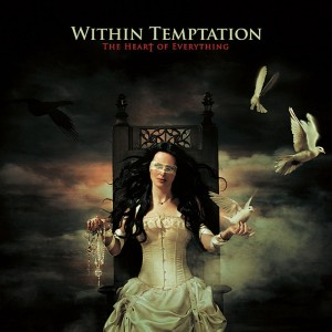 "Copertina dell'album ""The heart of everything"" del gruppo Within Temptation"