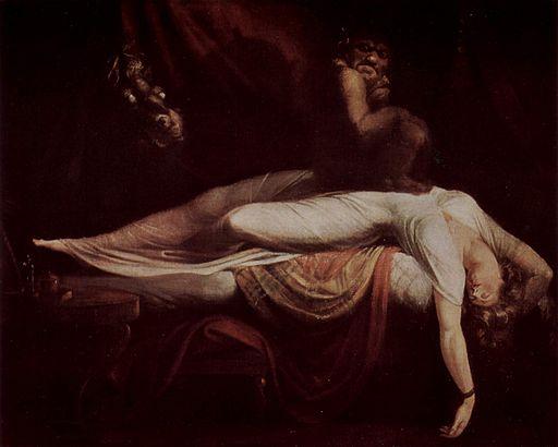 """L'incubo"", dipinto di  Johann Heinrich Füssli"