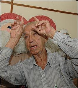 Benjamín Urrea, detto 'Garabato', in un'immagine di pochi anni fa.
