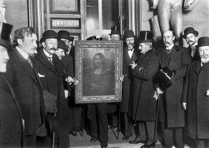 La Gioconda fu ritrovata nel dicembre 1913. Per un mese venne esposta in Italia e poi restituita ai francesi a inizio 1914.