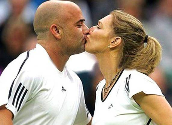 Andre e Steffi Graff, la coppia più bella del mondo.