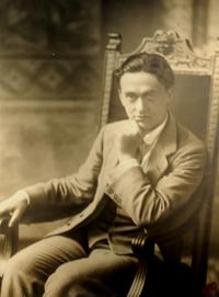 Filippo Corridoni. Nato nel 1887, morirà in guerra nell'ottobre 1915.