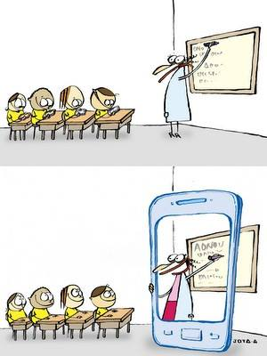 professoressa lavagna ipad