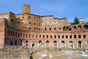382-Roma - i Mercati Traianei