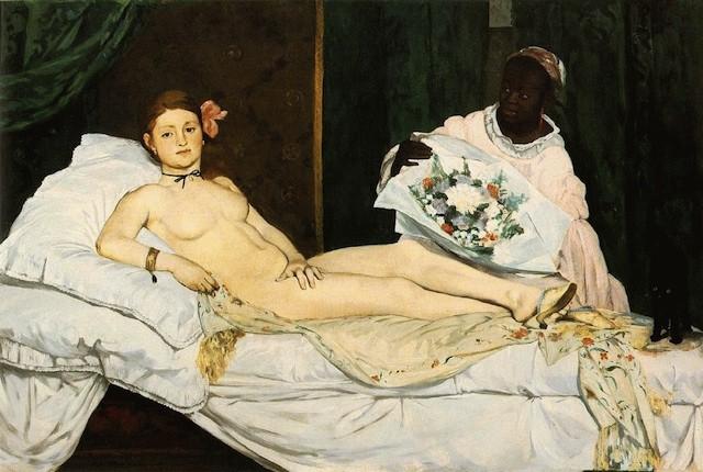 Olympa, 1863, Parigi Musée d'Orsay