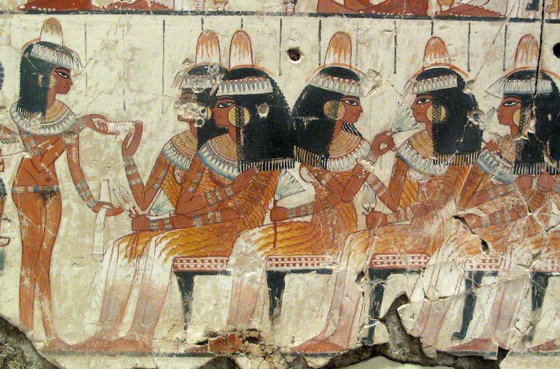 Tomba di Nebamon, XVIII dinastia, British Museum, Londra