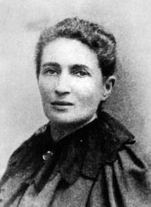 Anna Kuliscioff, compagna di Filippo Turati.