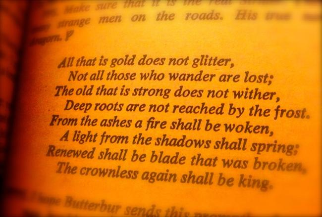 """Da """"Il Signore degli Anelli"""" di J. R. R. Tolkien ne"""