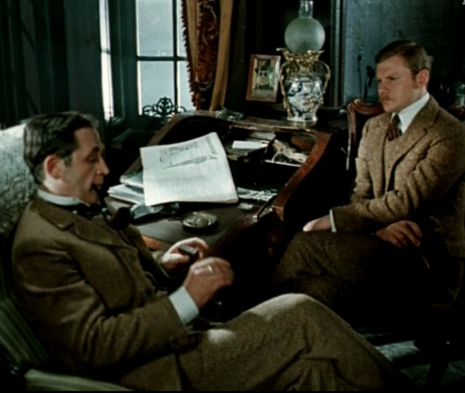 Sherlok Holmes russian style.