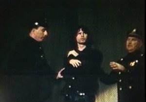 Arresto sul palcoscenico. ew Haven 1967.