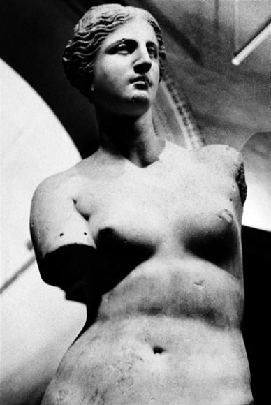 La Venere di Milo, una delle più celebri statue greche.