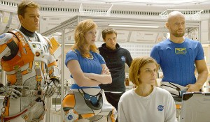 The Martian - Matt Damon - Jessica Chastain