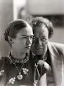 Frida Kahlo e Rivera.