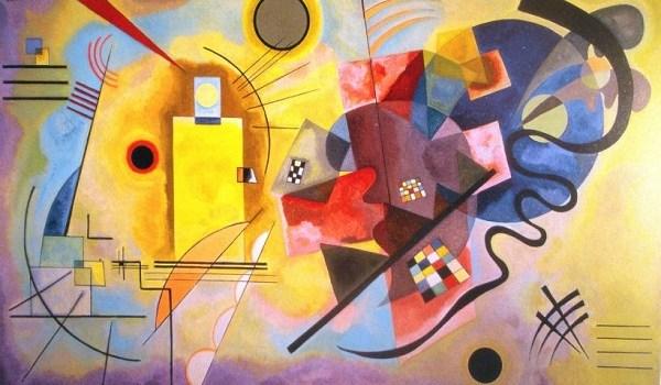 Gelb-Rot-Blau Kandinskij