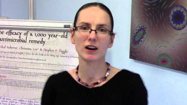 Freya Harrison, dell'Università di Nottingham, una delle autrici dello studio