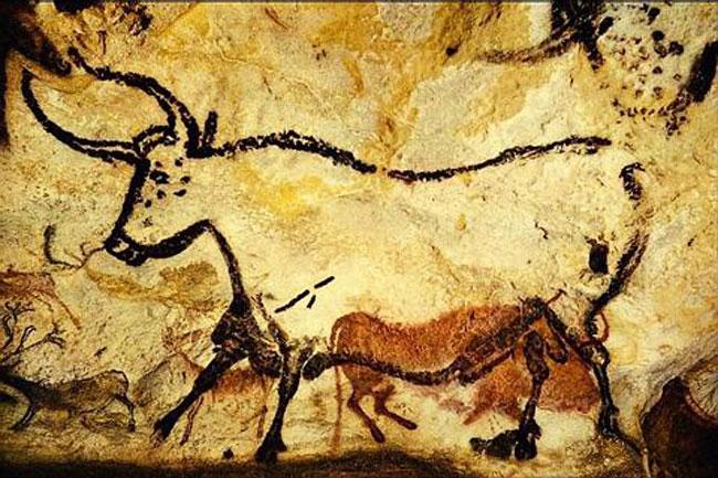 Uro, grotta di Lascaux, Francia