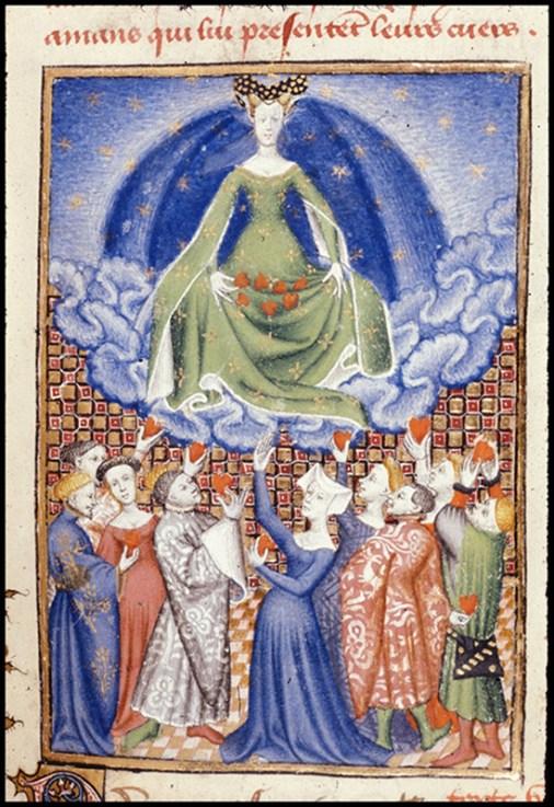 Venere, Christine de Pizan, Libro della regina, British Library