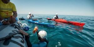 Nelle acque dell'oceano Indiano, tra Zanzibar e Bagamoyo (Tanzania).