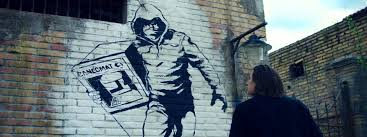lo chiamavano jeeg robot murale