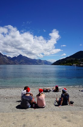 Natale a Queenstown (Lake Wakatipu)