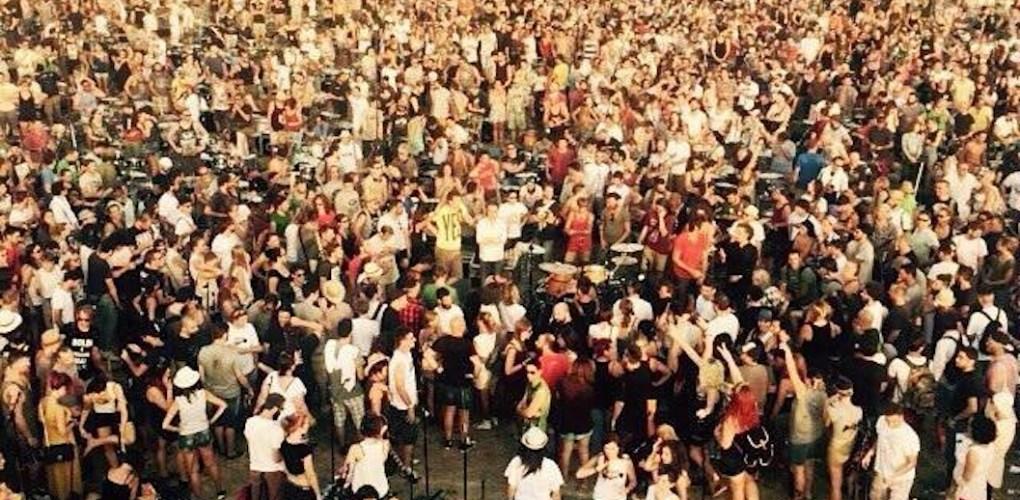 Rockin'1000, 26 luglio 2015. Foto di Camilla Salvarani.