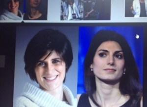 Le Sindaco Chiara Appendino e Virginia Raggi