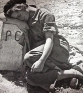 Gerda Taro per Robert Capa