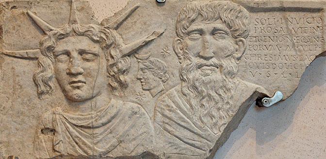 Stele del Sol invictus, Museo nazionale romano